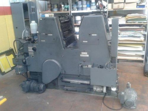 HEIDELBERG GTO P + N 52 (NUMBERING AND PERFECTING)SPECIAL PRODUCTION MONOCHROME OFFSET PRINTING PLUS PLUS POSSIBILITY OF 2ND COLOR PRINTING WITH PROFESSIONAL PERFORATION AND NUMERAL PRINTING + (FULL REVISION)