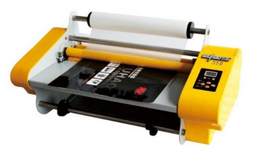 BOWAY  P-FM358-N LAMINATING MACHINE - ONE SPEED CONTRAL - DOUBLE SIDE LAMINATING - MANUAL FEEDING PAPER